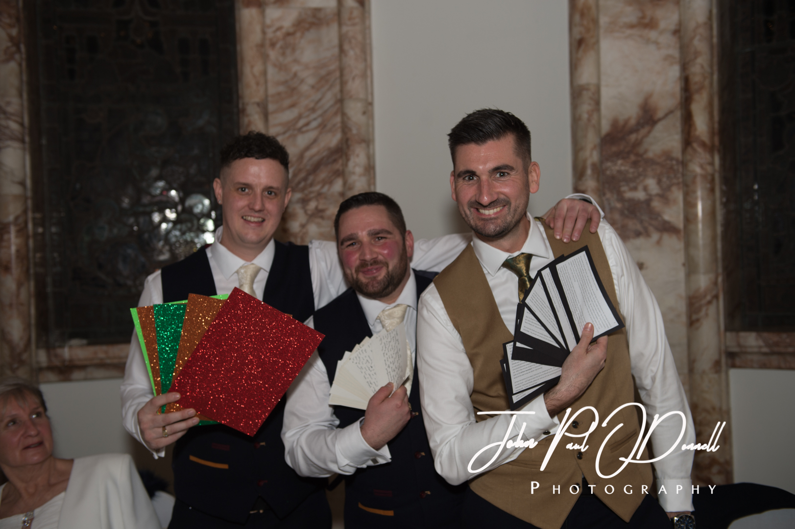 Matthew and Jills Luton Hoo Christmas Wedding