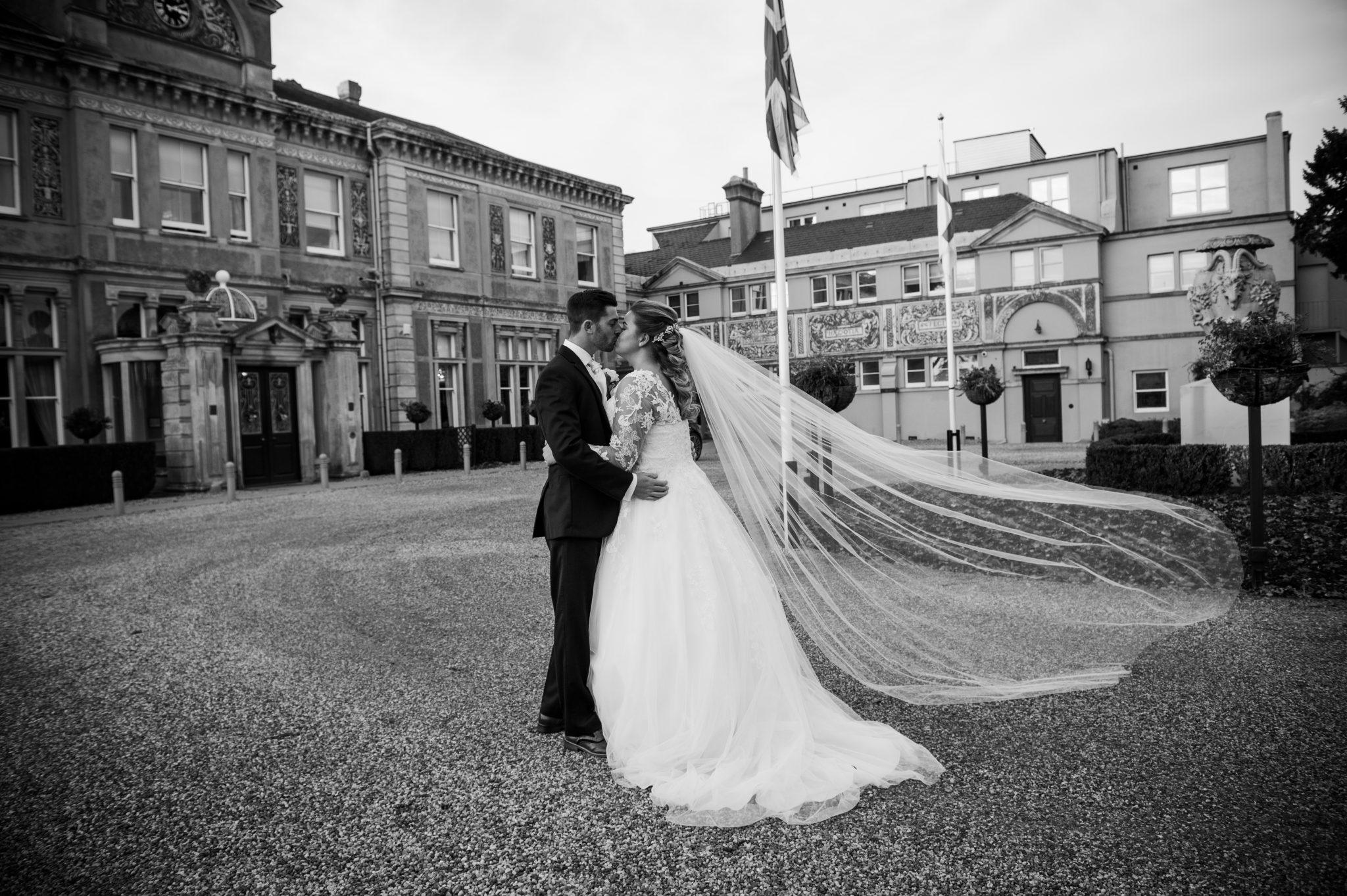 Rhiannon and Ryans Wedding Photographs at Down Hall